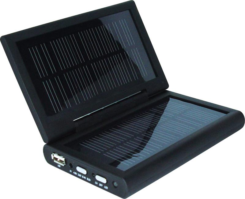 Black solar charger